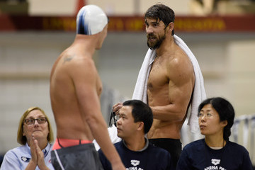 Michael Phelps Ryan Lochte Arena Pro Swim Series - Day 1