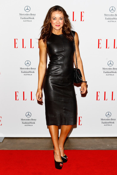 Michelle Bridges Leather Dress