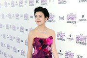 Michelle Chen Strapless Dress
