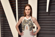 Michelle Dockery Cutout Dress
