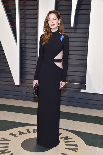 Michelle Monaghan Cutout Dress