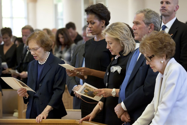 National Tribute Service Honors The Life Of Betty Ford