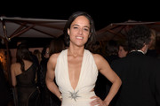 Michelle Rodriguez Cutout Dress