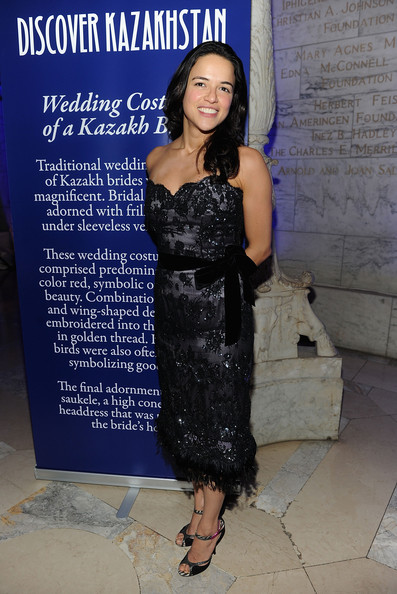Michelle Rodriguez Beaded Dress