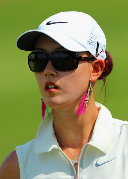 Michelle Wie Rectangular Sunglasses