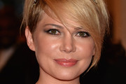 Michelle Williams Short cut with bangs
