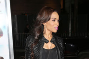 Michelle Williams (singer) Leather Jacket