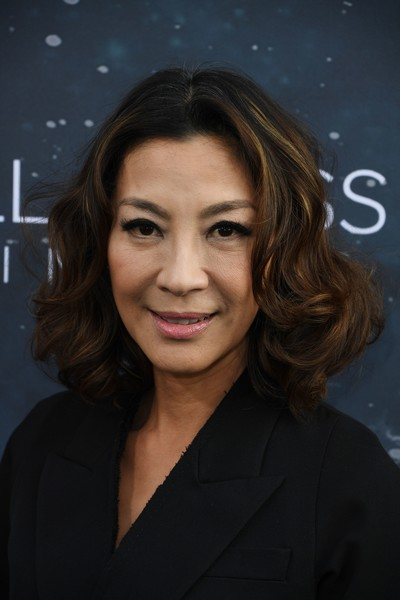 Michelle Yeoh Curled Out Bob