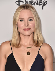 Kristen Bell kept it simple and classic with this mid-length bob at Mickey's 90th Spectacular.