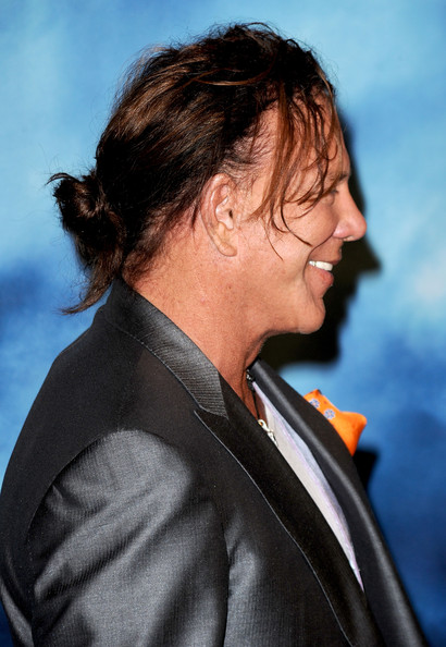 Mickey Rourke Hair