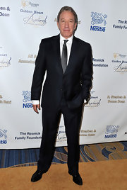 Tim Allen kept his look sleek and sophisticated with this two-button, notch-lapel suit.