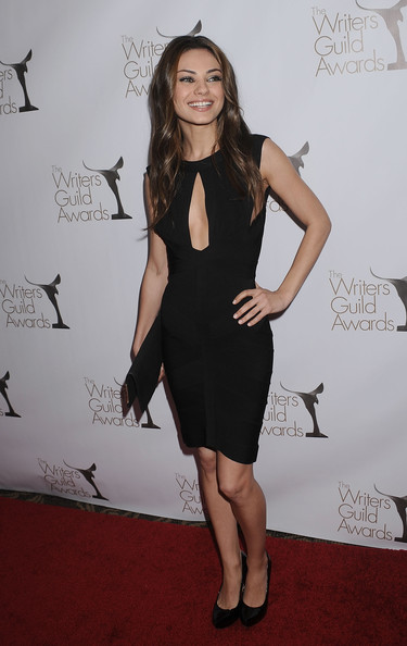 Mila Kunis Cutout Dress
