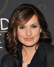 Mariska Hargitay gave her highlighted locks a little bounce with spiral curls at the premiere of 'Mildred Pierce.'