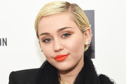 Miley Cyrus Bright Lipstick