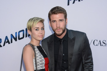 Miley Cyrus Liam Hemsworth 'Paranoia' Premieres in LA — Part 3
