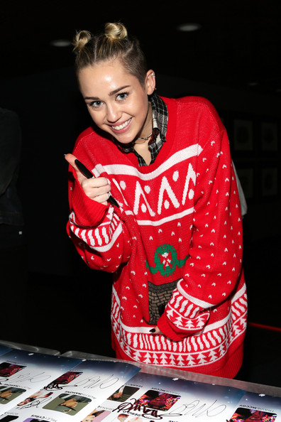Miley Cyrus Crewneck Sweater