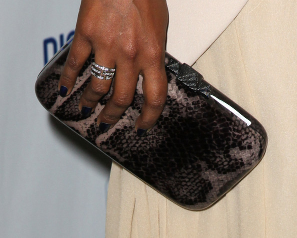Mindy Kaling Printed Clutch