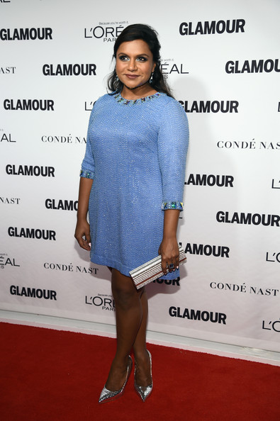 Mindy Kaling Beaded Dress