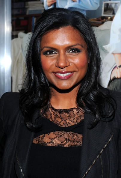 Mindy Kaling Long Wavy Cut [no strings attached,hair,face,eyebrow,hairstyle,black hair,beauty,lip,long hair,forehead,fashion,mindy kaling,california,westwood,regency village theater,paramount pictures,premiere,premiere]