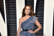 Minnie Driver One Shoulder Dress