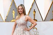 Mira Sorvino One Shoulder Dress