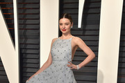 Miranda Kerr Embroidered Dress