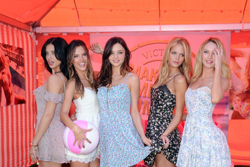 "Miranda Kerr Erin Heatherton Victoria's Secret Launches Their 6th Annual ""What Is Sexy? List: Bombshell Summer Edition"""