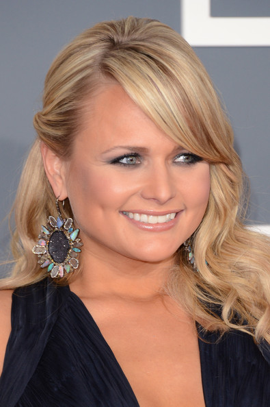 Miranda Lambert Dangling Gemstone Earrings