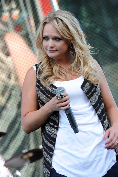 Miranda Lambert Cocktail Ring [hair,blond,street fashion,clothing,beauty,hairstyle,shoulder,fashion,snapshot,long hair,miranda lambert,dierks bentley,riverfront park,nashville,tennessee,5th annual miles music for kids,miles music for kids celebrity motorcycle ride and benefit concert,benefit concert,celebrity motorcycle ride]