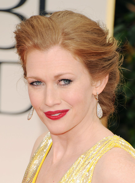 Mireille Enos Bobby Pinned Updo
