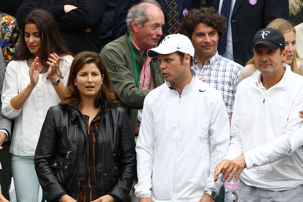 Mirka Federer Leather Jacket