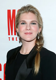 Lily Rabe opted for a stylish loose braid for her beauty look at Miscast 2013.