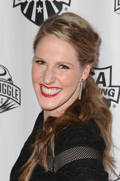 Missy Franklin Ponytail [hair,face,hairstyle,eyebrow,beauty,lip,chin,blond,long hair,forehead,missy franklin,j.w.,golden goggle awards,l.a. live,los angeles,california,usa swimming golden goggle awards]