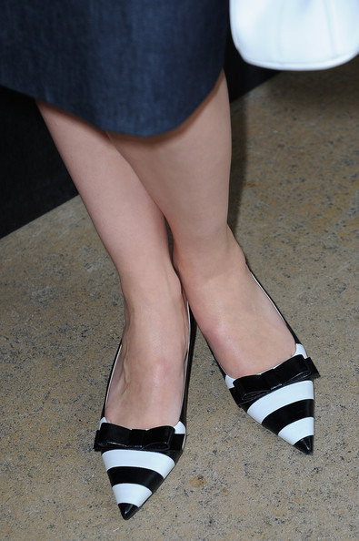 More Pics of Rebecca Hall Slingbacks (1 of 12) - Rebecca Hall Lookbook - StyleBistro