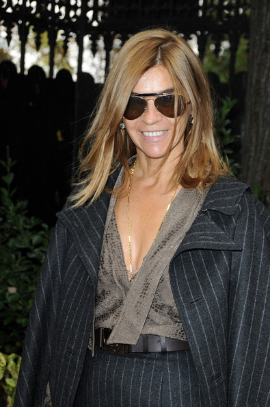 More Pics of Carine Roitfeld Medium Straight Cut (1 of 5) - Carine Roitfeld Lookbook - StyleBistro