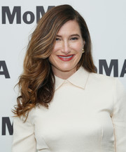 Kathryn Hahn gave us hair envy with her voluminous waves at MoMA's Contenders screening of 'Private Life.'