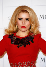 Paloma Faith was all about retro flair, as always, with this voluminous hairstyle at the Moet British Independent Film Awards.
