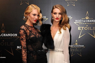 Candice Swanepoel Rosie Huntington-Whiteley Moet & Chandon Etoile Award - Gala Ceremony