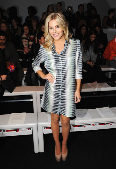 Mollie King Shirtdress
