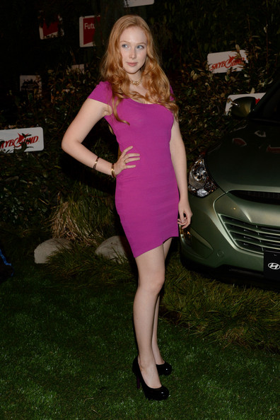 Molly C. Quinn Bandage Dress