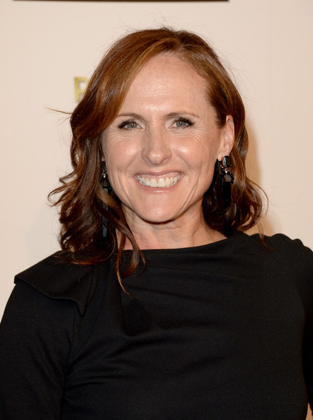 Actress Molly Shannon arrives at Broadcast Television Journalists