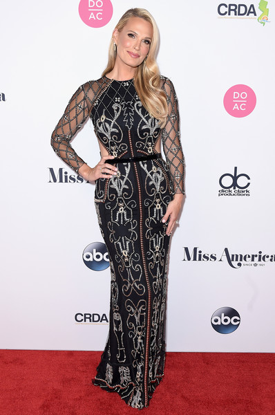 Molly Sims Beaded Dress
