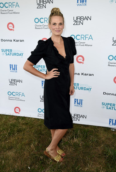 Molly Sims Little Black Dress