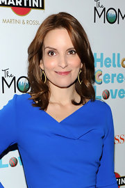 Tina Fey opted for a relaxed layered cut with a slight wave at the release of 'Admission.'