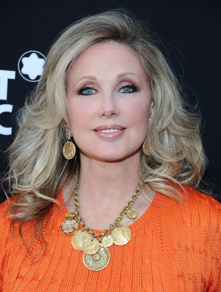 More Pics of Morgan Fairchild Gold Charm Necklace (1 of 3) - Morgan Fairchild Lookbook - StyleBistro