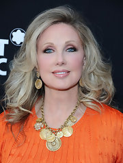 Morgan Fairchild wore her hair in voluminous curls at the Montblanc pre-Oscar brunch.