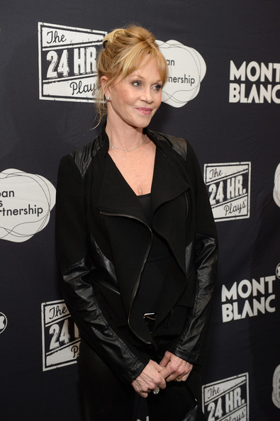 More Pics of Melanie Griffith Motorcycle Jacket (1 of 5) - Motorcycle Jacket Lookbook - StyleBistro