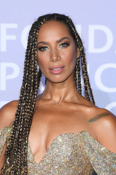 Leona Lewis rocked long box braids at the Monte-Carlo Gala for Planetary Health.