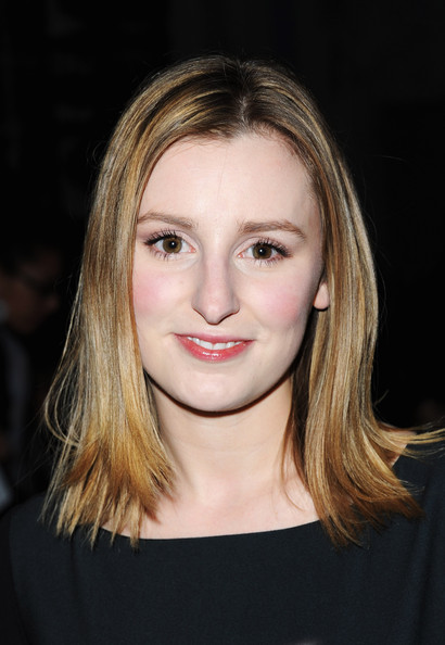 More Pics of Laura Carmichael Medium Straight Cut (1 of 3) - Shoulder Length Hairstyles Lookbook - StyleBistro