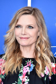 Michelle Pfeiffer wore her hair down in high-volume waves at the Venice Film Festival photocall for 'Mother!'